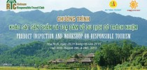 Hoa Binh Inspection Trip – Workshop on Responsible Tourism Announcement and Registration